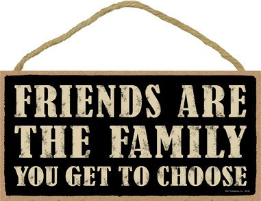 SJT ENTERPRISES, INC. Friends are The Family You get to Choose 5