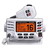 TopOne Standard Horizon GX1600W Explorer VHF Ultra Compact Class D White