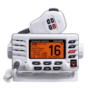TopOne Standard Horizon GX1600W Explorer VHF Ultra Compact Class D White by TOP ONE (Image #1)