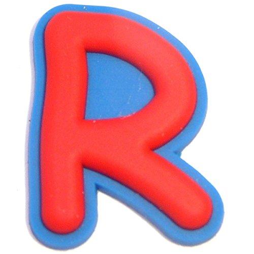 Letter R Shoe Rubber Charm Jibbitz Croc Style