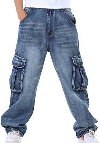 ワイドパンツ メンズ ジーンズ デニム カーゴ ロング 大きいサイズ ゆったり 大きめ 太め ボトムス 正規品 cmi24126