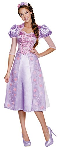 Disney Rapunzel Costumes Adults (Deluxe Rapunzel Adult Costume - Medium)