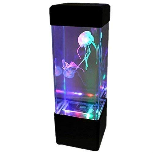Jellyfish Lava Lamp Awesome Gadgetzone LED Jellyfish Water Lava Lamp Aquarium With Colour