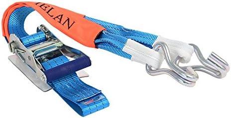 アヴィエラン(AVIELAN) ラッシングベルト IJフック ×1m 固定側2.5m