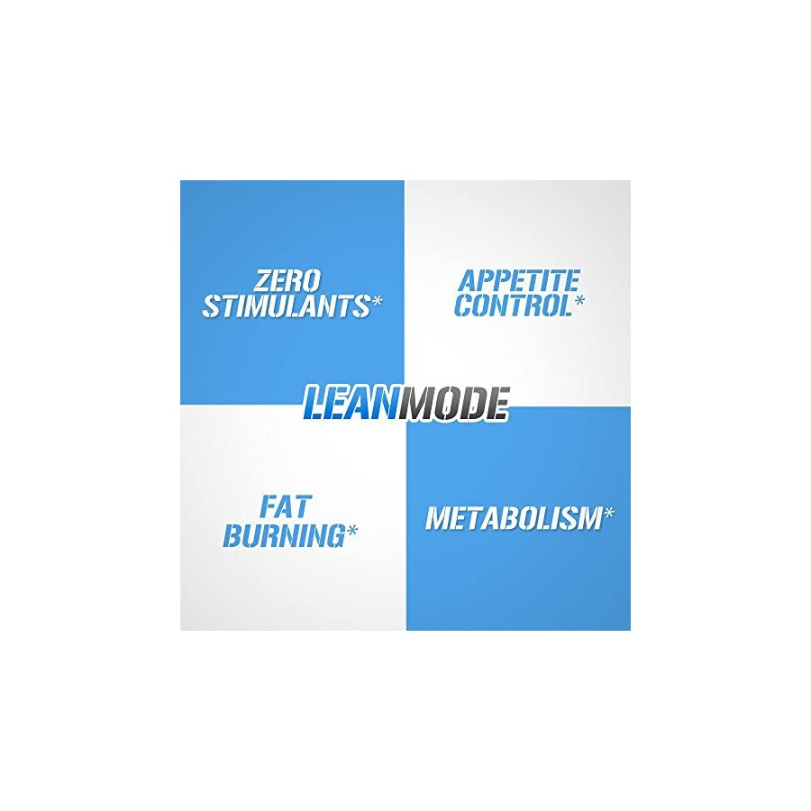Evlution Nutrition Lean Mode Stimulant Free Weight Loss Support with Garcinia Cambogia, Carnitine, CLA, and Green Tea Leaf extract (50 Servings)