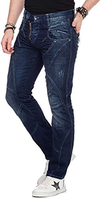 Cipo & Baxx dżinsy męskie: Odzież