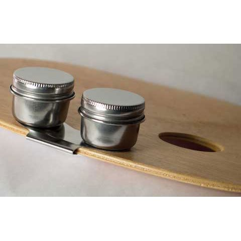 Stainless Steel Palette Cup- Double Cup