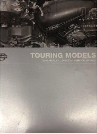 2009 Harley Davidson TOURING MODELS Service Shop Manual Set W PARTS OWNERS ELEC