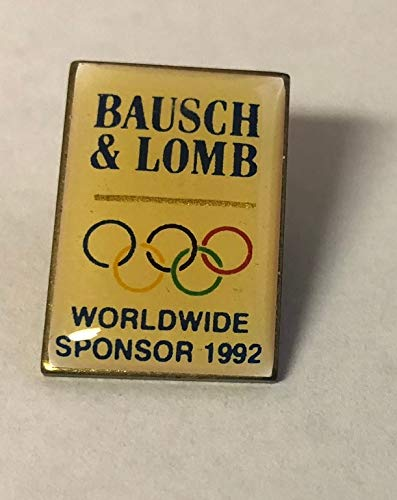 1992 Olympic Worldwide Sponsor Bausch & Lomb Pin - 1992 Olympic Pin
