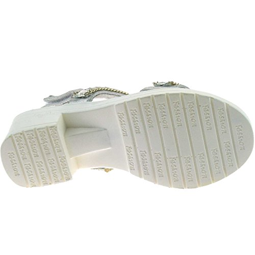 Lelli Kelly LK7475 (AH01) Silver Faith Sandals-28 (UK 10)