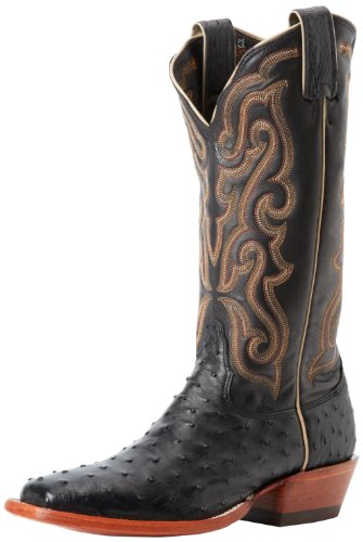 Nocona Boots Women's Black Full Quill Ostrich Boot,Black,7.5 B (Womens Full Quill Ostrich Boot)