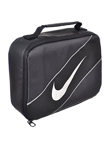 - Nike Contrast Insulated Reflective Game Royal Tote Lunch Bag , Blue and Black , One Size