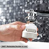 Movable Kitchen Tap Head, 360° Rotatable ABS