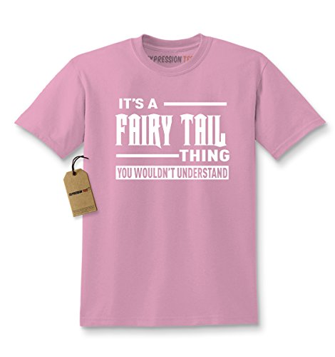 Kids It's A Fairy Tail Thing T-Shirt Medium Light Pink