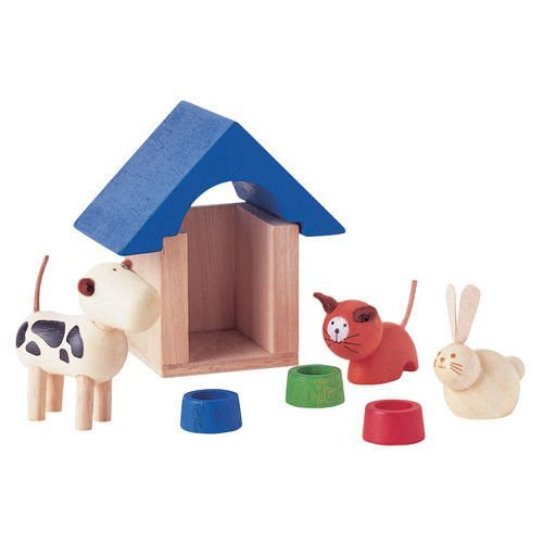Plan Toys Plan Dollhouse Pet and Accessories Furniture