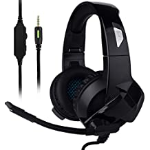 Ceppekyy Gaming Headset Xbox One,PS4,PC,Noise Cancelling Over Ear Headphones Mic&Stereo Surround Sound Laptop Mac Nintendo Switch Games