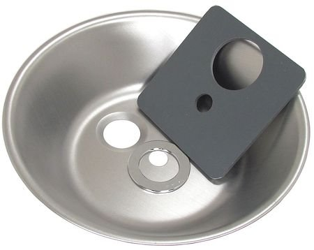 Speakman RPG68-0043 Round Stainless Steel Bowl with Tapered Drain