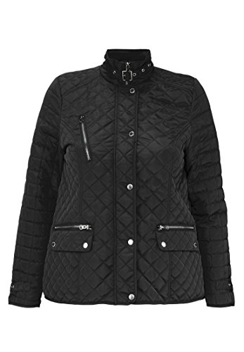 Quilted Snap Front Jacket - 9