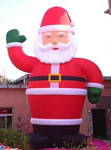 26ft Inflatable Santa Christmas Holiday Decoration with Blower 220V 7.9m by JIAWANSHUN