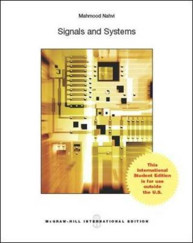 Signals and Systems by Nahvi, Mahmood(February 20, 2014) Paperback