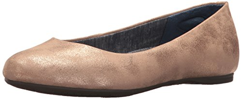 Dr. Scholl's Shoes Women's Giorgie Ballet Flat, Rose Gold Splatter, 10 M US