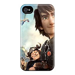 Scratch Resistant Cell-phone Hard Covers For Iphone 4/4s (uzS8354jyFN) Allow Personal Design Beautiful How To Train Your Dragon Image