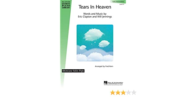 Hal Leonard Tears in Heaven Piano Library Series Performed by Eric ...