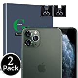 [2Pack] AOSOK Camera Protector for iPhone 11 Pro 5.8' /iPhone 11 Pro Max 6.5', Tempered Glass, Anti-Scratch, Ultra Thin, High Definition Camera Lens Protector with Lifetime Replacement Warranty (2pcs)