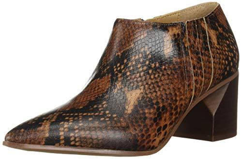Franco Sarto Women's Takoma Ankle Boot, Brown, 9.5 M US