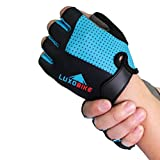 LuxoBike Cycling Gloves Bicycle Gloves Bicycling