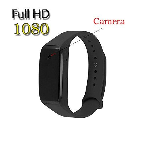 Ugetde HD 1080P Portable Wristband Spy Camera,Smart bracelet sports camera,Hidden Camera Audio Video Recorder watch dvr (Watch Video Recorder)