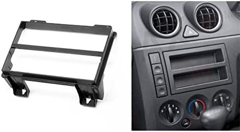 compatible with For Fiesta Antenna Adapter ISO Connector Cable Sound-way Double DIN Car Radio Installation Kit Facia Adaptor 2 DIN Front Panel Frame