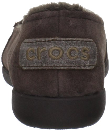 Crocs Womens Melbourne Ii Pelle Mocassino Espresso / Espresso