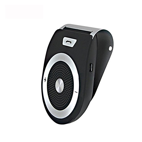 YETOR-YET-PRO6-Wireless-Bluetooth-41-Car-Visor-Speaker-Phone-Handsfree-Kit-for-any-Smart-Phones-with-Bluetooth-Black--BT-Car-Visor-Speaker
