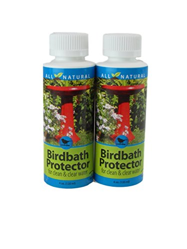 2 Pack 4 Oz Care Free Enzymes Birdbath Protector Made in USA 95521D