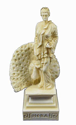 Estia Creations Hera Sculpture Ancient Greek Goddess Aged Statue