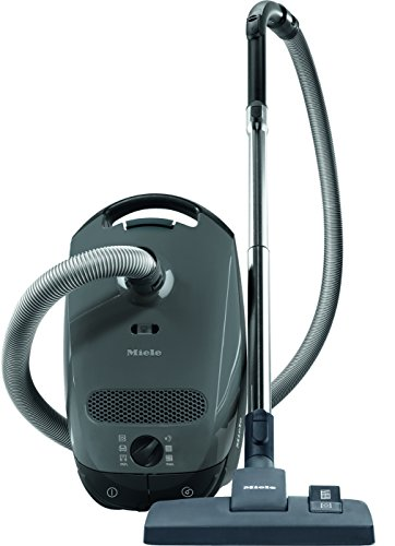 Miele Classic C1 Limited Edition Canister Vacuum Cleaner, Graphite Grey (Best Small Vacuum Cleaners 2019)