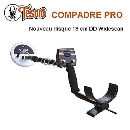 Tesoro-Detector De metales Compadre Pro incluye un protector De disco