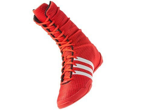 adidas Adipower Olympic Red Boxing Shoes (US 5) (B00R4XRVGC ...