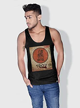 Creo Troy Movie Posters Tanks Tops For Men - S, Black