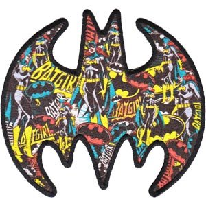 Batman DC Comics Multi Batgirl Logo Patch