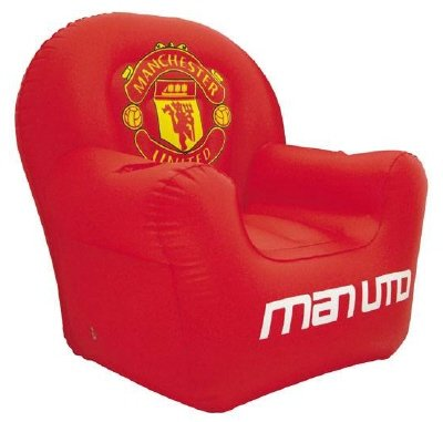 Awesome Manchester United Inflatable Armchair Amazon Co Uk Toys Creativecarmelina Interior Chair Design Creativecarmelinacom