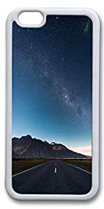 iPhone 6 Cases, Personalized Protective Case for New iPhone 6 Soft TPU White Edge Faraway Road