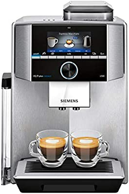 Siemens TI9553X1RW Cafetera Superautomática, 1500 W, 1.7 ...