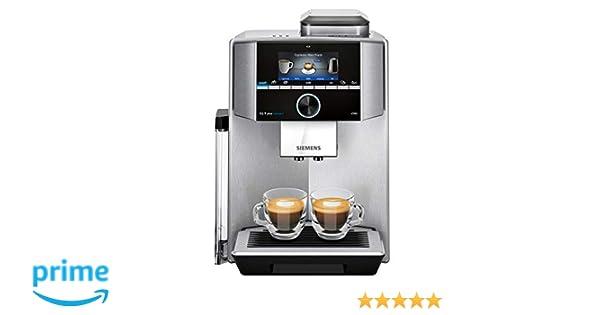 Siemens TI9553X1RW Cafetera Superautomática, 1500 W, 1.7 litros ...