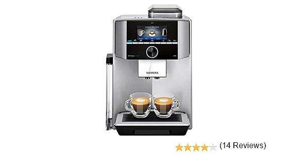 1500 W Acero Pl/ástico 1.7 litros Siemens TI9553X1RW Cafetera Superautom/ática
