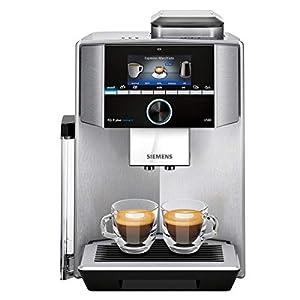 Siemens EQ.9 Plus Connect s500 TI9553X1RW – Machine à café automatique connectée avec écran tactile – Permet de préparer…