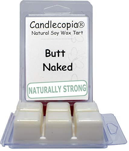 Candlecopia Butt Naked Strongly Scented Hand Poured Vegan Wa