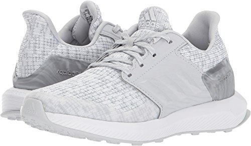Price comparison product image adidas Kids Unisex RapidaRun Lux C (Little Kid) White/Grey 11 M US Little Kid