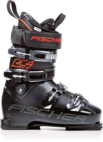 - Fischer RC4 Curv 110 Vacuum Full Fit Ski Boots Black/Black Mens Sz 10.5 (28.5)